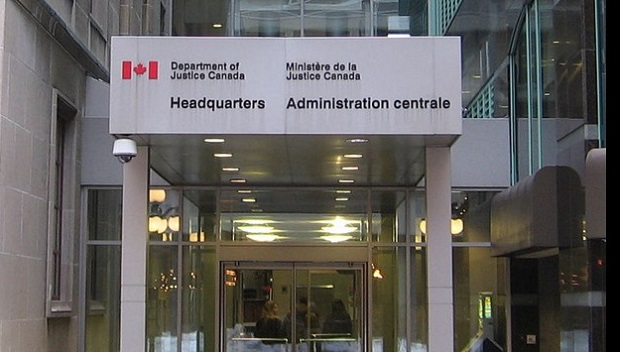 Dept of Justice Canada sparks street office