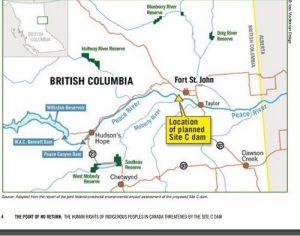 Site C Map