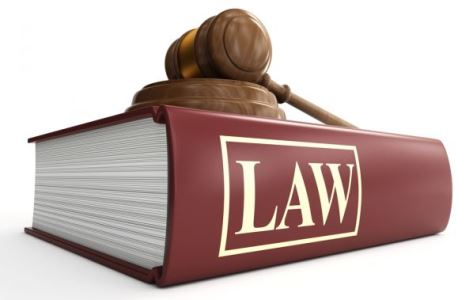 Law3 gavel and law book