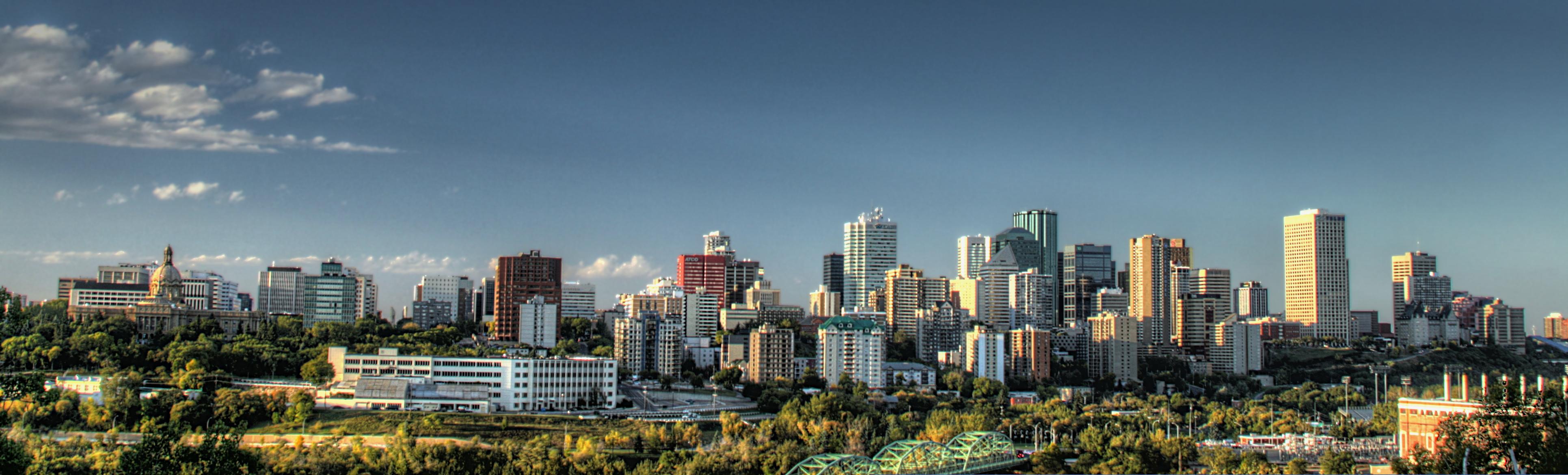 Edmonton, Alberta skyline