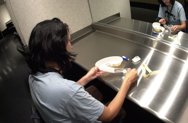 'Prepping' at the InSite safe injection site in Vancouver