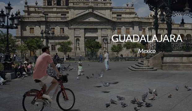 Bixi bike share in Guadala