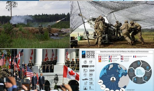 Canada NATO US montage