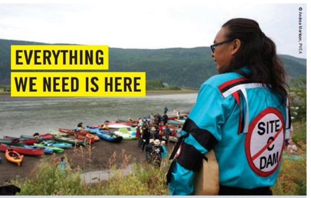 Site C Banner indigenous people