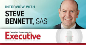Information Connection using AI and Analytics, An Interview with Steve Bennett, Director, Global Government Practice at SAS