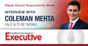 Cloud: Shared Responsibility Model, an interview with Coleman Mehta, Palo Alto Networks